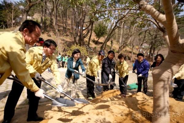 190401 부산 북구, 미세먼지 저감을 위한 나무심기 행사 열어 (1).jpg