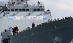 해군 청해부대 28진 '최영함' 출항